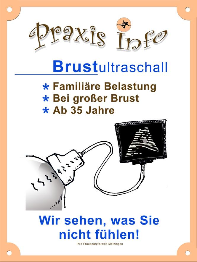 Brustultraschall